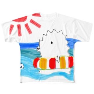 【復活❤️販売】旬・じゅじら(夏) フルグラフィックTシャツ