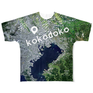 WEAR YOU AREの東京都 板橋区 Tシャツ 両面 Full graphic T-shirts