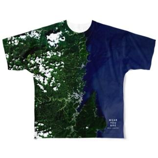 岩手県 宮古市 Tシャツ 両面 Full graphic T-shirts