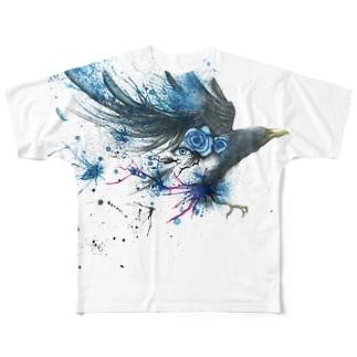アートTシャツ 諸刃 Full graphic T-shirts