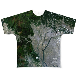 岐阜県 大垣市 Tシャツ 片面 Full graphic T-shirts