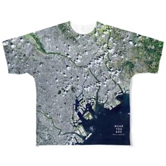 東京都 荒川区 Tシャツ 片面 Full graphic T-shirts