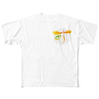 願いが叶う フルグラフィックTシャツ