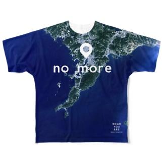 長崎県 長崎市 Tシャツ 両面 Full graphic T-shirts