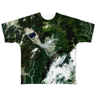日本 Tシャツ 両面 Tシャツ 両面 フルグラフィックTシャツ