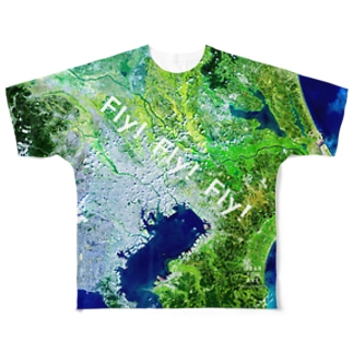 千葉県 松戸市 Tシャツ 両面 Full graphic T-shirts