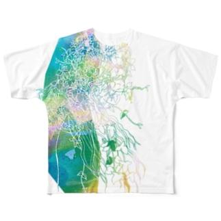 つるまきさん 1 フルグラフィックTシャツ