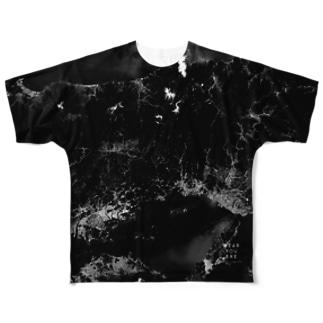 岡山県 英田郡 Tシャツ 両面 フルグラフィックTシャツ