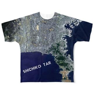 神奈川県 横浜市 Tシャツ 片面 Full graphic T-shirts