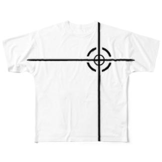 ロックオンTシャツ Full graphic T-shirts