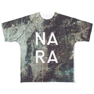 奈良県 奈良市 Tシャツ 両面 Full graphic T-shirts