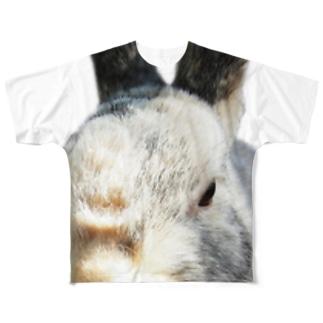 うさぎ(せっつん) Full graphic T-shirts
