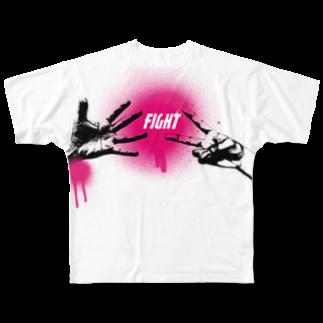 紙子の52th Full graphic T-shirts
