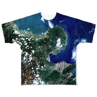 大分県 豊後高田市 Tシャツ 片面 Full graphic T-shirts