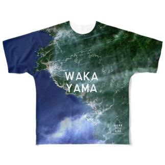和歌山県 日高郡 Tシャツ 両面 Full graphic T-shirts
