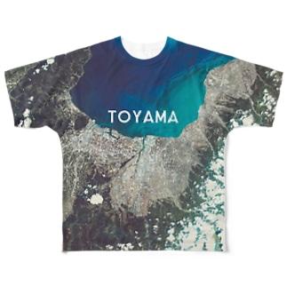 富山県 富山市 Tシャツ 両面 Full graphic T-shirts
