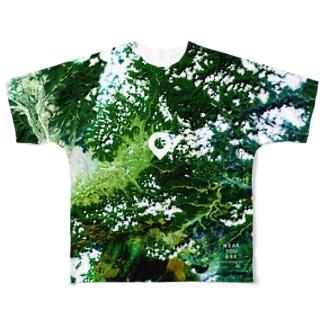 山梨県 甲州市 Tシャツ 片面 Full graphic T-shirts