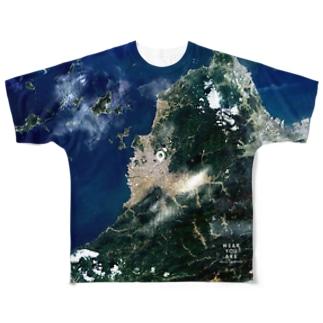 愛媛県 松山市 Tシャツ 両面 Full graphic T-shirts