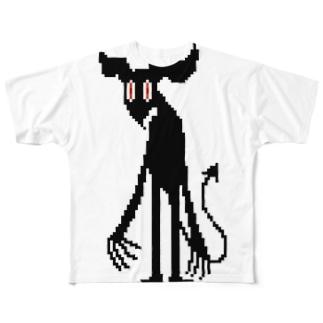あくまっぽい フルグラフィックTシャツ