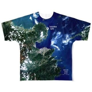 大分県 国東市 Tシャツ 両面 Full graphic T-shirts
