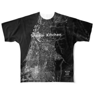 山形県 酒田市 Tシャツ 両面 Full graphic T-shirts
