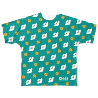 エサガラ フルグラフィックTシャツ