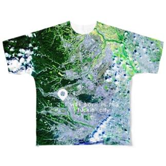 東京都 羽村市 Tシャツ 片面 Full graphic T-shirts