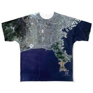 神奈川県 平塚市 Tシャツ 両面 Full graphic T-shirts