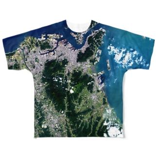 福岡県 北九州市 Tシャツ 片面 フルグラフィックTシャツ
