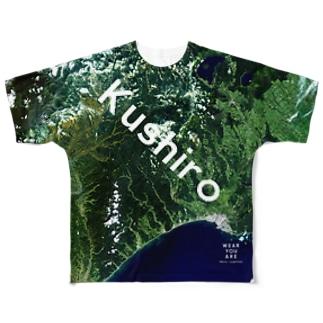 北海道 釧路市 Tシャツ 片面 フルグラフィックTシャツ