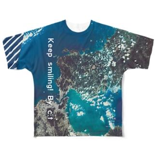 山口県 美祢市 Tシャツ 両面 Full graphic T-shirts