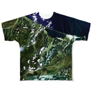 北海道 紋別郡 Tシャツ 片面 フルグラフィックTシャツ