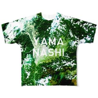 山梨県 甲府市 Tシャツ 両面 Full graphic T-shirts