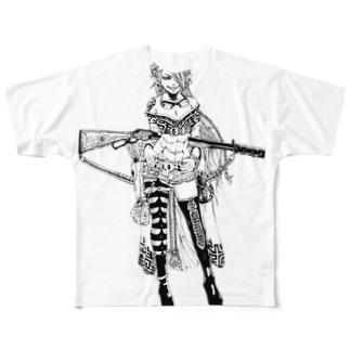 沙悟浄 Full graphic T-shirts
