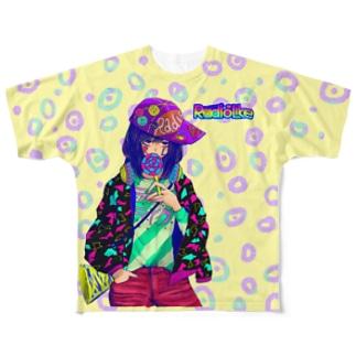Lollipop Girl フルグラフィックTシャツ