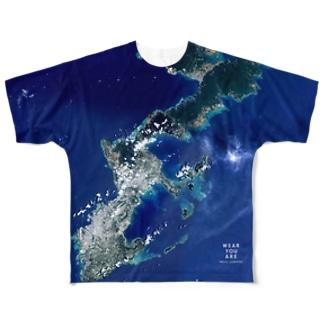 沖縄県 うるま市 Tシャツ 両面 Full graphic T-shirts