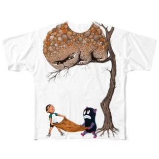 僕を信じてくれないか フルグラフィックTシャツ