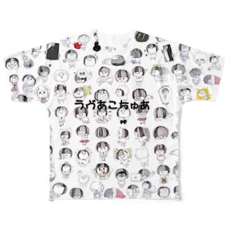 ラヴあこちゅあT フルグラフィックTシャツ