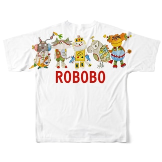 ROBOBO お出かけ Full graphic T-shirts