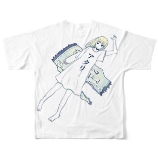 当たりは私Tシャツ Full graphic T-shirts