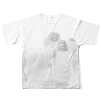 素足の季節 Full graphic T-shirts