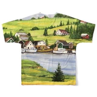 プリンスエドワード島の旅・3 Full graphic T-shirts