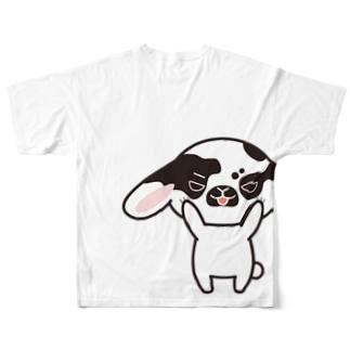 半袖ゴジラTシャツ(バックプリント) Full graphic T-shirts