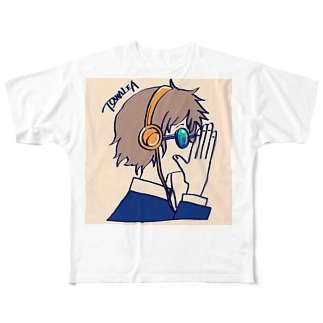 ヒミツの話 Full graphic T-shirts