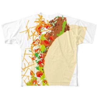 フォーリングタコス Full graphic T-shirts