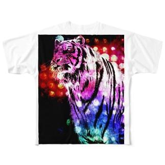 TIGER Full Graphic T-Shirt