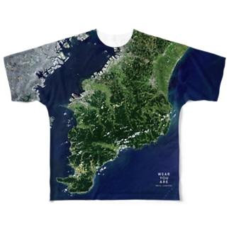 千葉県 市原市 Tシャツ 両面 Full graphic T-shirts