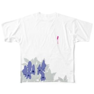 鳥兜 Full graphic T-shirts