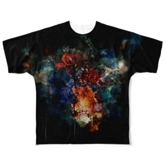 曼珠沙華 Full graphic T-shirts