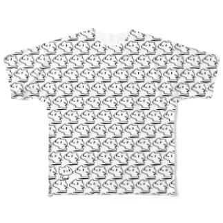 どどねこ-びっしり- Full graphic T-shirts